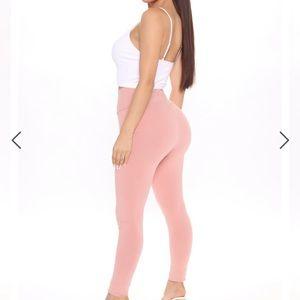 Fashion Nova pink tights